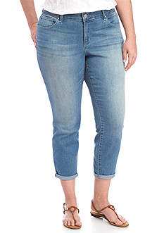 Jessica Simpson Plus Sized Forever Rolled Skinny Jean