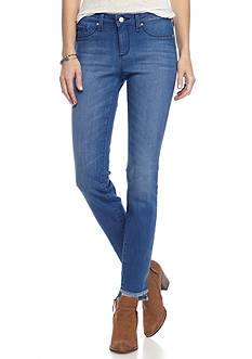 Jessica Simpson Kiss Me Frayed Ankle Skinny Jeans