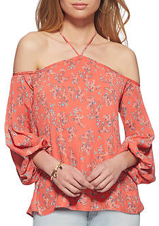 Jessica Simpson Anita Cold Shoulder Top