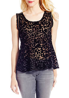 Jessica Simpson Regine Peplum Top