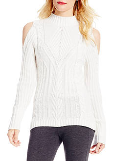 Jessica Simpson Riva Cold Shoulder Sweater