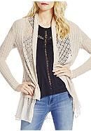 Jessica Simpson Tovelo Open Front Cardigan