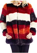 Jessica Simpson Rocky Faux Fur Jacket