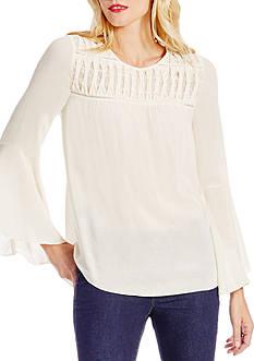 Jessica Simpson Wilma Bell Sleeve Peasant Top