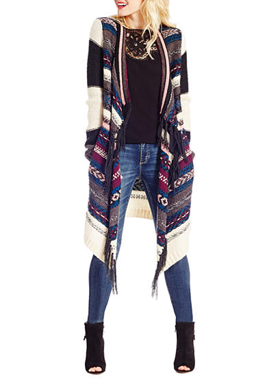 Jessica Simpson Delight Aztec Sweater