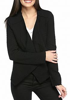 Jessica Simpson Ino Geo Jacquard Knit Jacket
