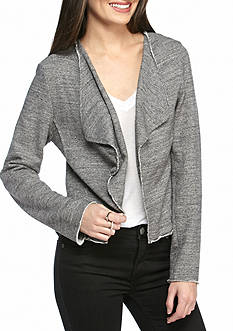 Jessica Simpson Ino French Terry Jacket