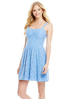 Jessica Simpson Kymball Fit-and-Flare Dress