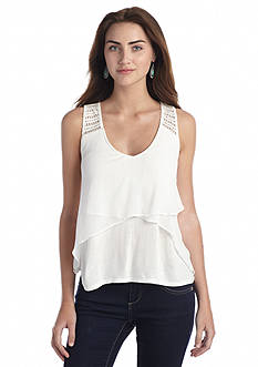 Jessica Simpson Mirabella Solid Sleeveless Top