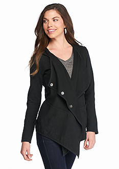 Jessica Simpson Zahara Relaxed Asymmetrical Jacket