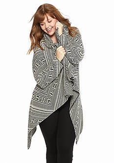 Jessica Simpson Plus Size Juliane Cozy Sweater