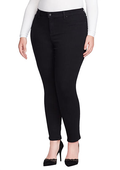 Jessica Simpson Plus Size Low-Rise Skinny Jeans