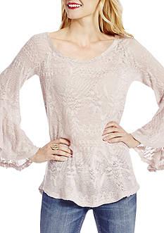 Jessica Simpson Hyne Bell Sleeve Top