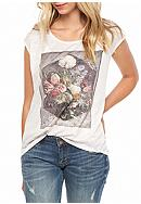 Jessica Simpson Winnie In Bloom Graphic Tee