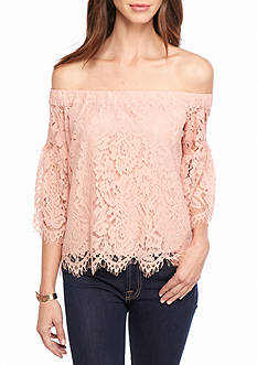 Jessica Simpson Delani Off Shoulder Top