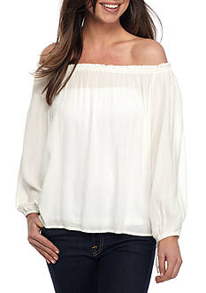 Jessica Simpson Adel Off The Shoulder Blouse