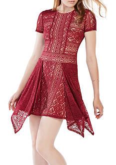 BCBGMAXAZRIA Stretch Lace Dress
