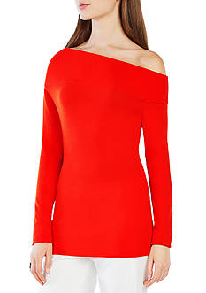 BCBGMAXAZRIA Reilly Off-The-Shoulder Top