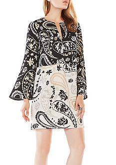 BCBGMAXAZRIA Printed Dress