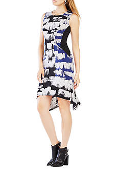 BCBGMAXAZRIA Printed Sleeveless Dress
