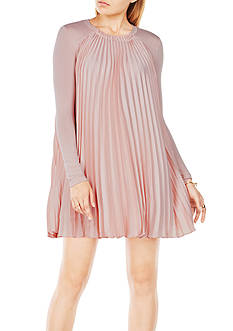 BCBGMAXAZRIA Cristina Pleated Dress