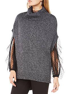 BCBGMAXAZRIA Denice Sleeveless Turtleneck Sweater