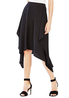 BCBGMAXAZRIA Draped Side Skirt
