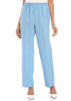 Alfred Dunner Classic Proportion Average Pant