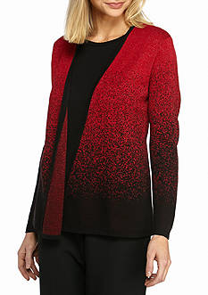 Alfred Dunner Classics Glittery Sweater