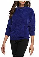Alfred Dunner Petite Size Sweater With