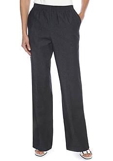 Alfred Dunner Black Jean Pants