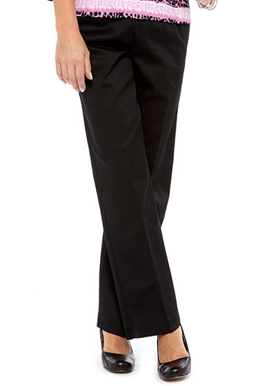 Alfred Dunner Classics Twill Pant