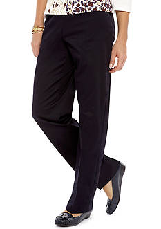 Alfred Dunner Classics Medium Twill Pants