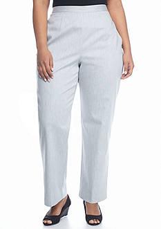 Alfred Dunner Plus Size Santa Clara Proportioned Short Pants