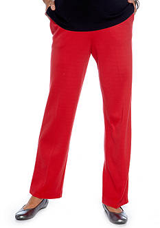 Alfred Dunner Park Place Pull On Pant