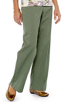 Alfred Dunner Let's Get Cozy Twill Pant
