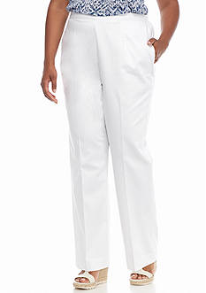 Alfred Dunner Plus Size Sao Paolo Proportioned Pants
