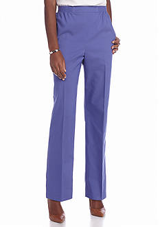 Alfred Dunner Petite Cyprus Proportioned Pants - Short