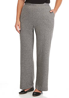 Alfred Dunner Plus Size Arcadia Proportioned Pants