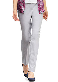 Alfred Dunner Veneto Valley Warp Stretch Pant
