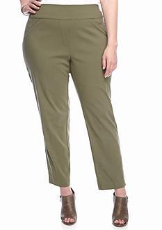 Alfred Dunner Plus Cactus Ranch Slim Pants