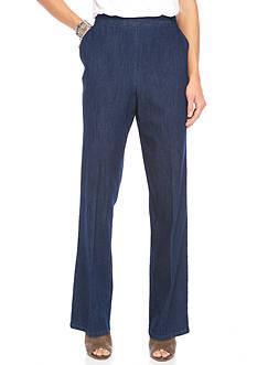 Alfred Dunner Sierra Madre Proportioned Denim Pants