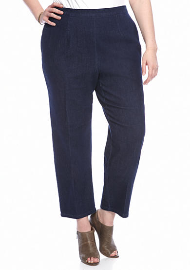 Alfred Dunner Plus Sierra Madre Pant