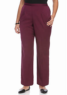 Alfred Dunner Plus Size Sierra Madre Medium Pants