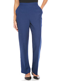 Alfred Dunner Crescent City Proportion Pant