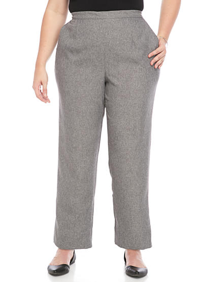 Alfred Dunner Plus Size Classic Fit Pant