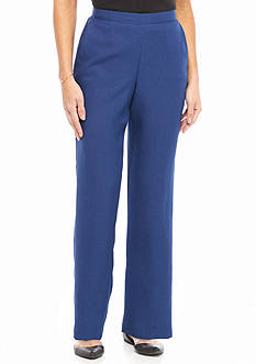 Alfred Dunner Petite Crescent City Proportioned Pant