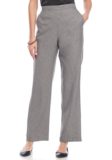 Alfred Dunner Wrap It Up Pants