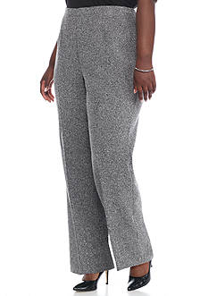 Alfred Dunner Plus Size Wrap It Up Proportioned Medium Pants