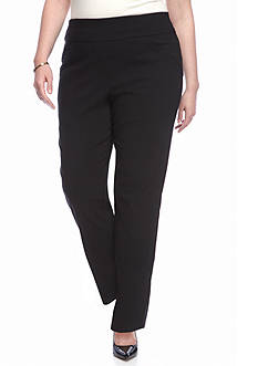 Alfred Dunner Wrap It Up Slim Pants